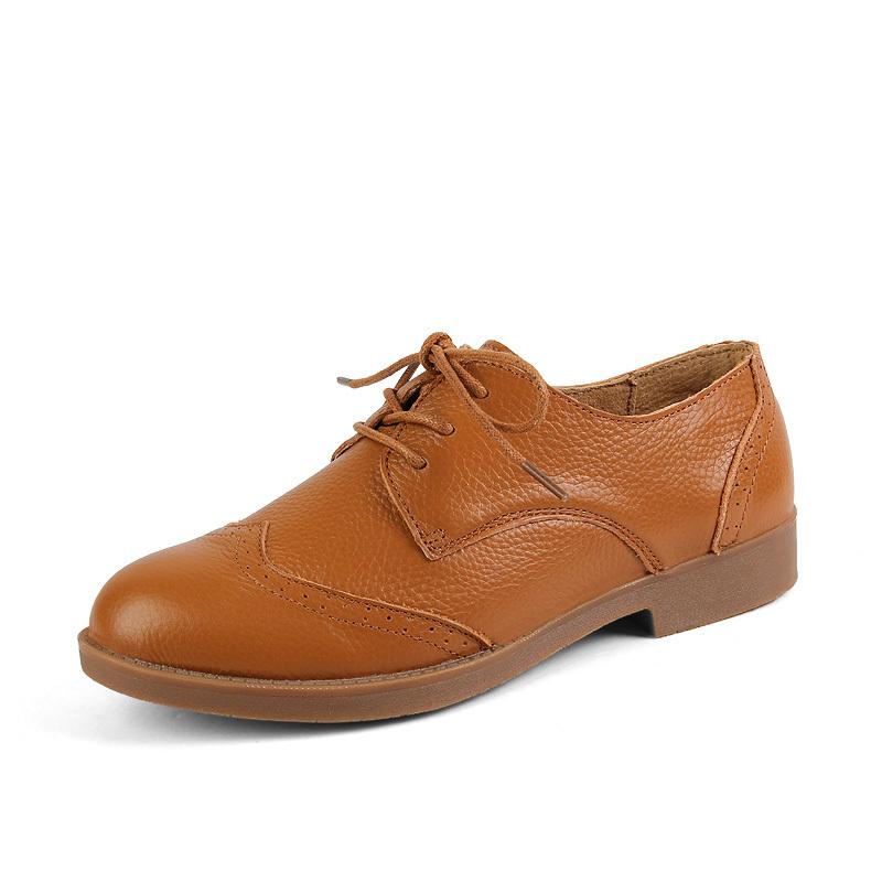 Fashion British Style Women Oxfords Shoes Women