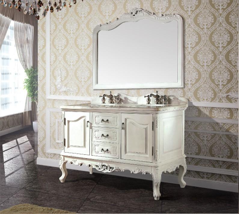 Haute qualitu00e9 antique armoire de toilette avec miroir et u00e9vier ...