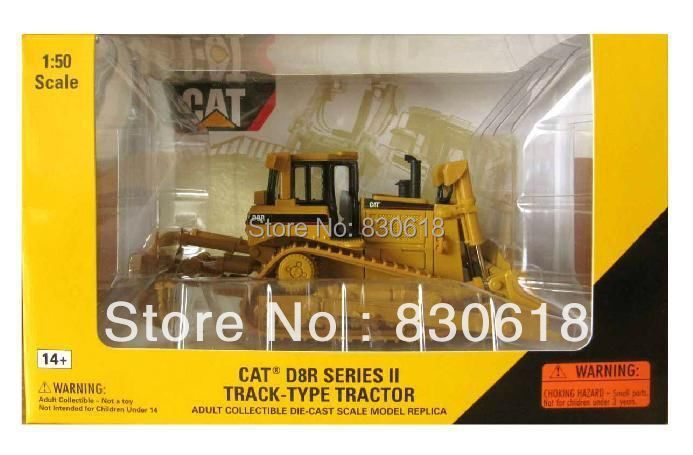 Norscot 1:50 scale diecast Caterpillar CAT D8R Tractor metal model 55099 toy(China (Mainland))