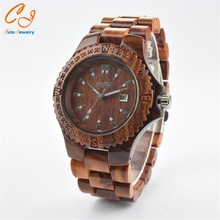 Popular retro wooden table Bamboo production wholesale manufacturers Sandalwood suit men and women bracelet(China (Mainland))