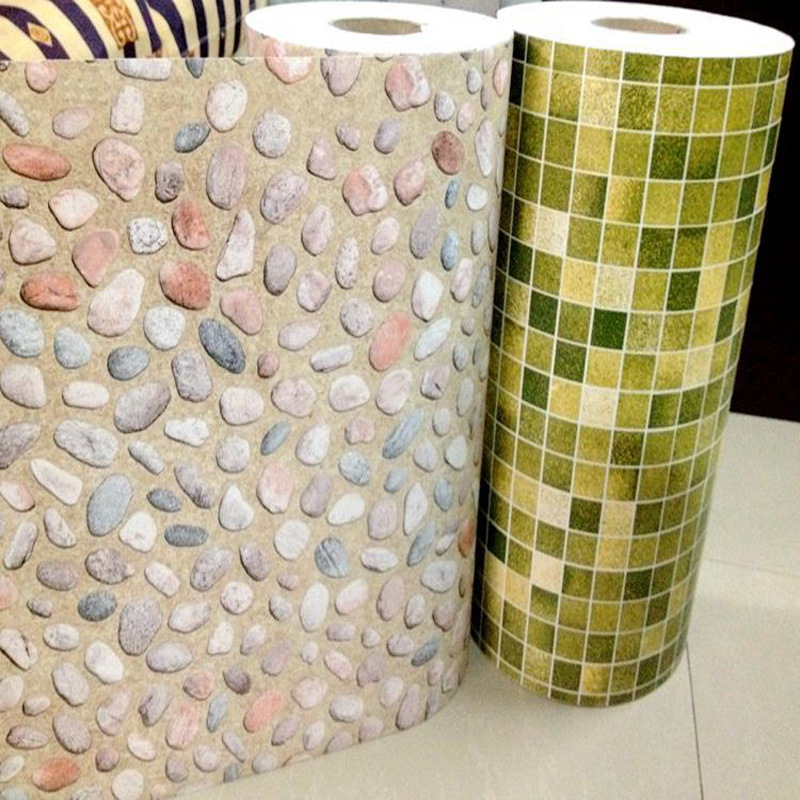 Selbstklebende Fliesen Tapete : Selbstklebende PVC mosaik tapete fliesen wasserdichte von wand papier