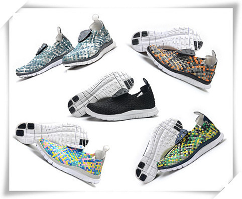 2015 New Arrival Woven Shoes Men Running Shoes 5.0 Barefoot Free Trainer Size US 6.5-US10(China (Mainland))