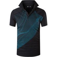 Jeansian 남자 스포츠 티 폴로 셔츠 POLOS Poloshirts 골프 테니스 배드민턴 드라이 피트 반소매 LSL269 Black2(China)