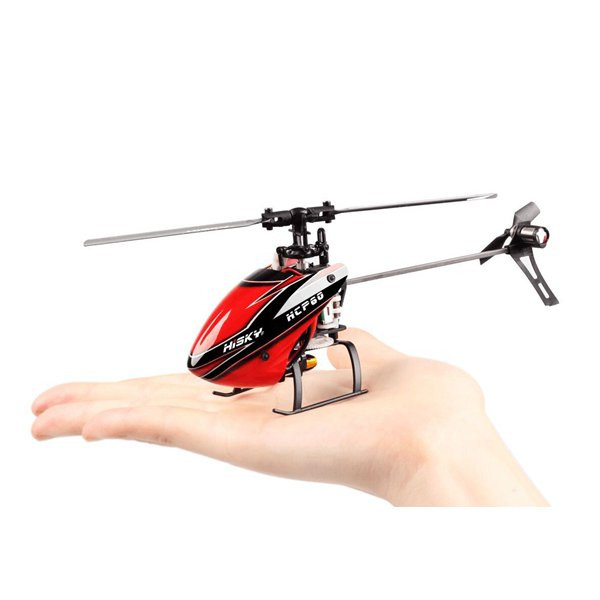 Hisky HCP60 2.4G 6CH Mini 6 Axle Gyro Flybarless RC Helicopter RTF BNF(China (Mainland))