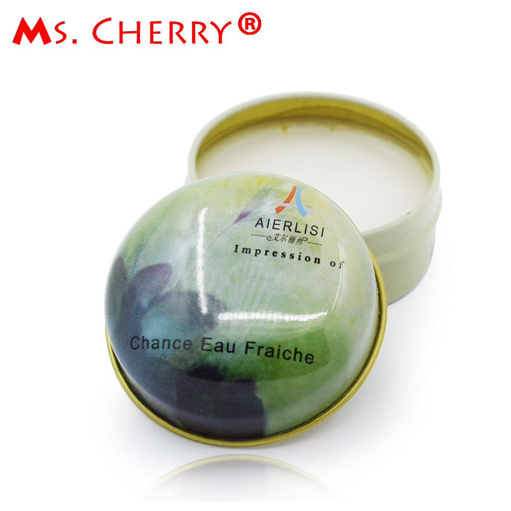 Portable Solid Perfume 15ml for Men Women Original Deodorant Non-alcoholic Fragrance Cream MH011-01(China (Mainland))