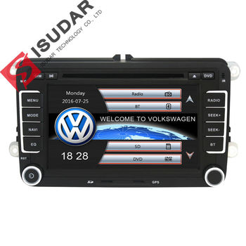 Two Din 7 Inch Car DVD Player For VW/Volkswagen/POLO/PASSAT/Golf/Skoda/Seat With Wifi 3G Host Radio GPS Bt 1080P Ipod RDS Map