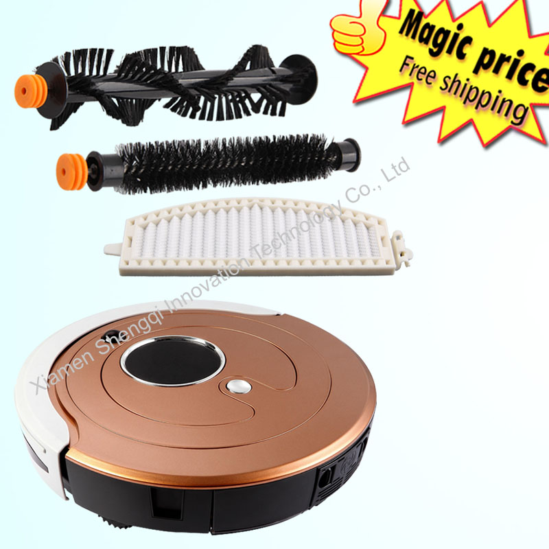 Multifunctional Automatic Recharge Schedule Cleaning Robot Vacuum Cleaner twinbird vacuum cleaner(China (Mainland))