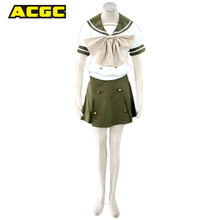 Anime Cosplay EVA Neon Genesis Evangelion Ayanami Rei / Shakugan no Shana Cosplay Costumes School Girl Uniform Halloween Costume