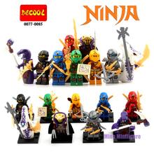 SY285 SY613 Кай Ninjagoes Minifigures Building Blocks Набор Модель Кирпич Детей Игрушки Aciton Рисунках Совместим с Lego(China (Mainland))