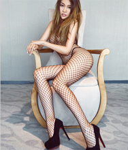 L-HS197 New arrival one size Crotchless Fishnet Body Stockings popular sexy body stocking sex suit fashion fishnet bodystocking
