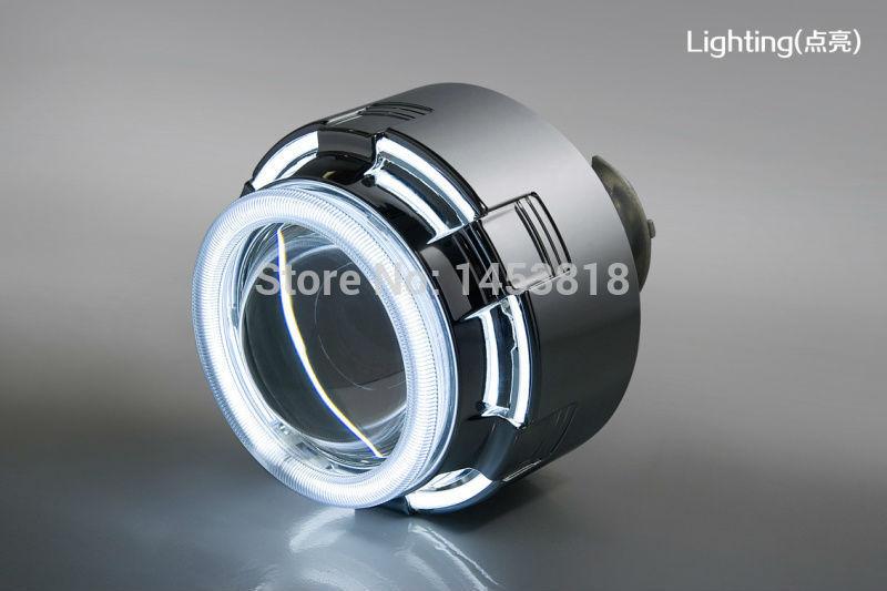 12C 35w H7 H4 H13 9007 H1 9006 9005 Slim AC Ballast BI-XENON HID Conversion Double CCFL Angle Eyes 3inch Bixenon HID Projector