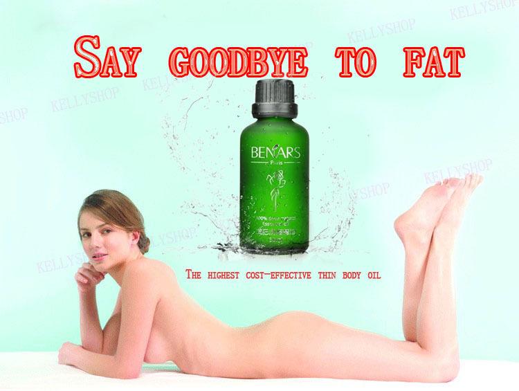 BENARS Full body fat burning Body slimming Oil hot anti cellulite weight lose lost Product powerful slimming thin leg massage(China (Mainland))