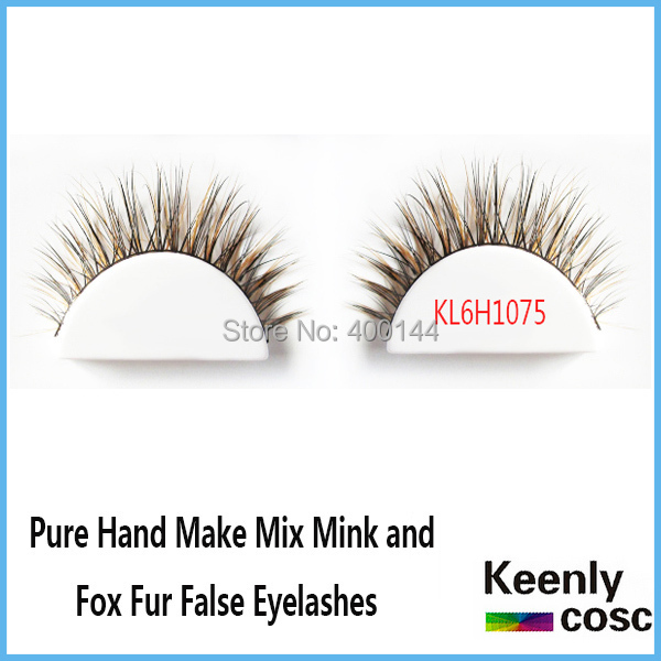 Free Shipping! High quality eyelashes extension mix pure mink and fox fur thick fake eyelash natural long thick lashes <br><br>Aliexpress