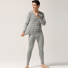 Winter Mens Thermal Underwear Sets High Quality Cotton Men's Long Johns Suits For Man(China (Mainland))