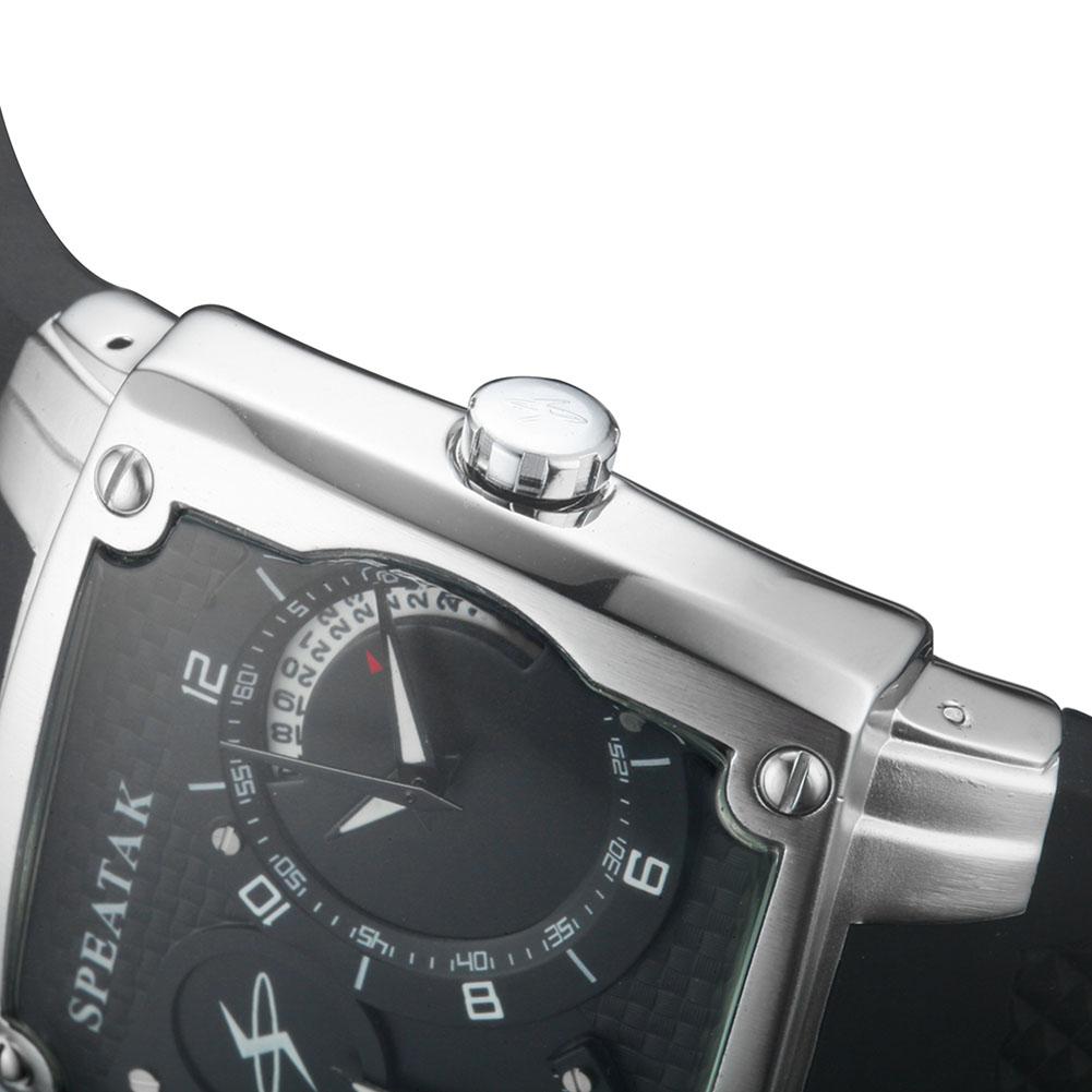 2016 Силиконовые мужские Наручные Часы Личность Большой Набор Двойной Таймер С Календарем Кварцевые Наручные Часы HB88