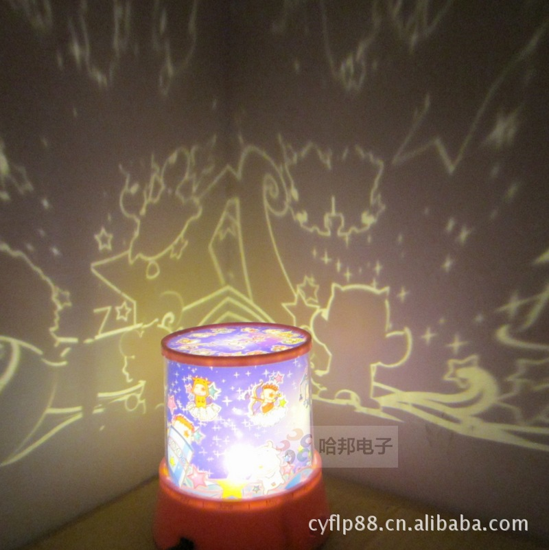 The new factory direct LED Highlight version rotating music Zodiac Star Projector large to talk(China (Mainland))