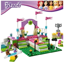 Girl's Friends Set Pet Show Building Brick Blocks Minifigures Gift Toys Compatible With Lego(China (Mainland))