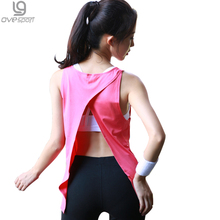 Buy Summer Sexy Women Tank Tops Female Dry Quick Loose Fitness Vest Singlet Exercise Women's Workout T-Shirts Back Knot 1060 for $8.01 in AliExpress store