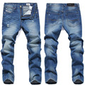 2015 disel fashion cotton straight Thin models in Europe and America men's jeans straight men's long pants, jeans young men