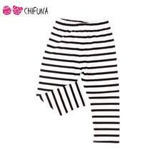 Retail 2016 Cute Children Leggings Cloud Umbrella Stripe Kids Pants Cotton Blend Baby Girl Leggings Baby Girl Clothes