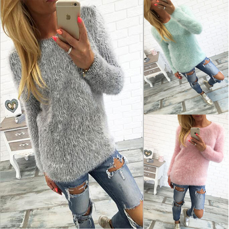 Kaywide Plush Wollen Casual T Shirt Women Autumn Winter O Neck Long Sleeve Warm T-Shirt Plus Size Female Tops Shirt B1545(China (Mainland))