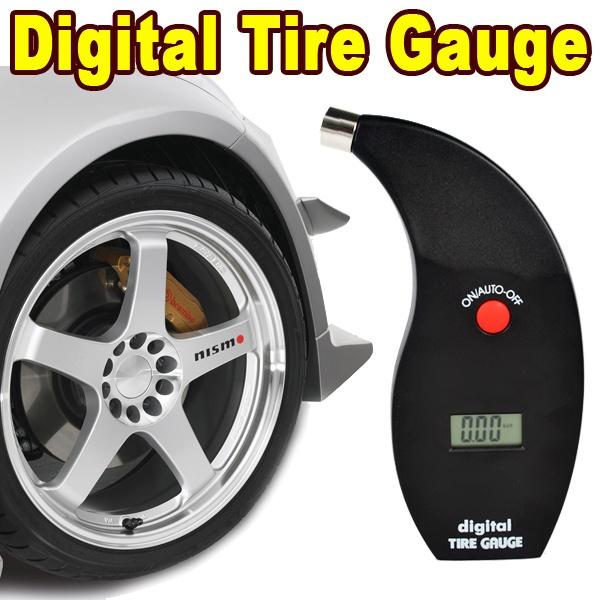 5-150 PSI High Accuracy Digital Tire Gauge LCD Auto Motor Wheel Test Tyre Air Pressure Kpa Bar Truck Meter Vehicle Monitoring(China (Mainland))