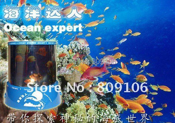 Wholesale ,Free shipping, Festival Gift/ new lover Star Projector Lamp Star Projector/Ocean projector/ night light(China (Mainland))