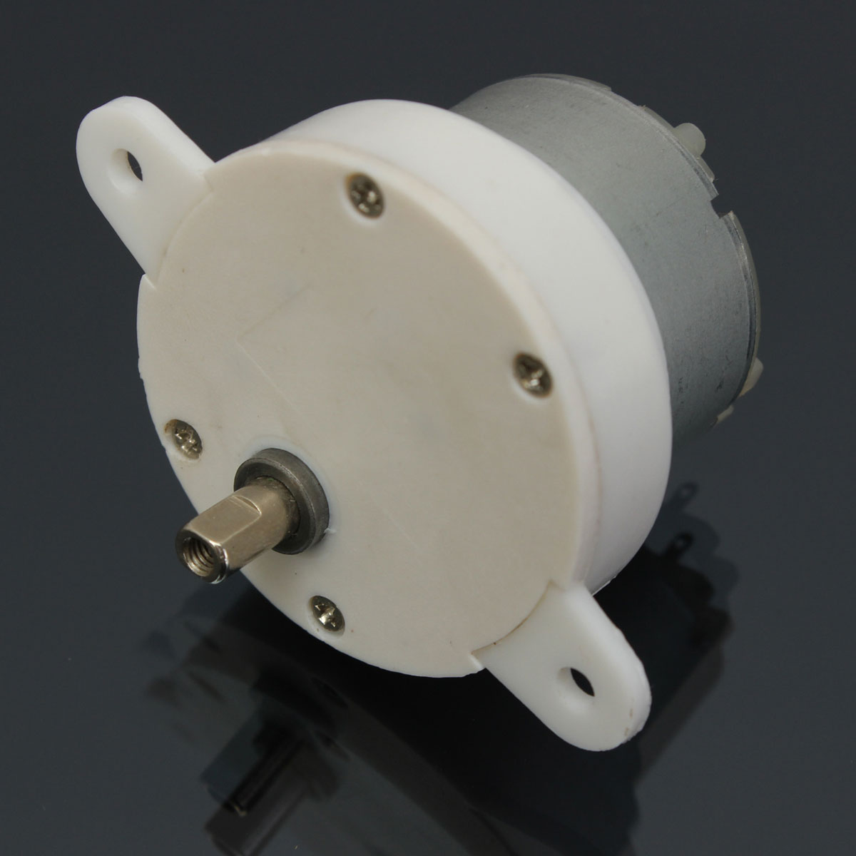 12V DC High Torque Electric Geared Box Reduction Motor 3 RPM 40mm x 4mm(China (Mainland))