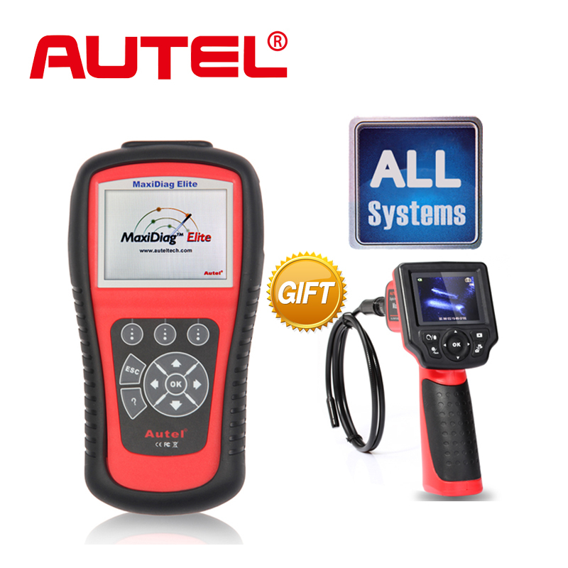 [Authorization Distributor] Autel Maxidiag Elite MD802 All system + DS Model Full System DS+EPB+OLS+Data Stream+Free Gift MV208(China (Mainland))