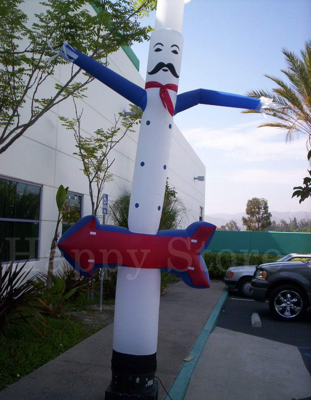 Popular Chef inflatable air dancer inflatable advertising man(China (Mainland))