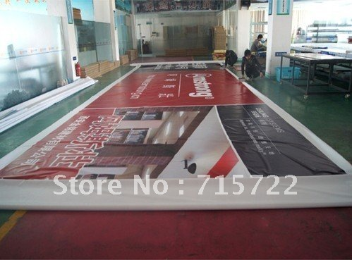 Large outdoor PVC flex banner(China (Mainland))