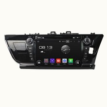A9 HD 1024*600 Quad Core 1.6G 16GB Android 5.1.1 Car DVD Player Radio GPS Navi Stereo for Toyota COROLLA 2014 Right Driving
