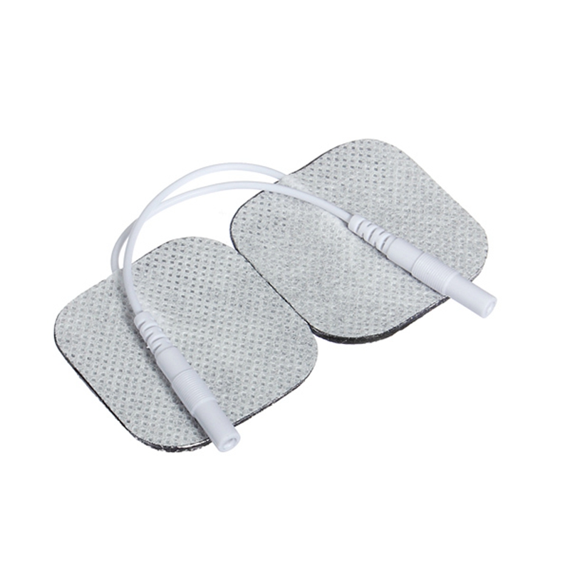 Promotion 10 Pair 4x4cm Square Tens Massager Electrode Pads Reusable Self Adhesive Pads for Tens Machine Massager Supplies(China (Mainland))