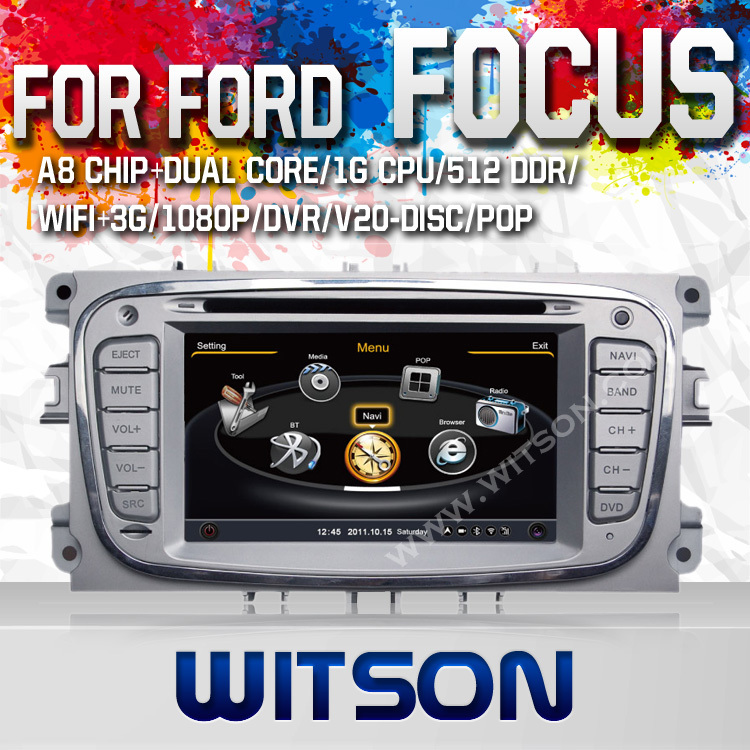 WITSON auto radio for FORD MONDEO FOCUS(&gt;2008) S-MAX with Super Fast A8 Chipset Dual-Core CPU:1GMHZ RAM:512M Free Shipping &amp;Gift<br><br>Aliexpress