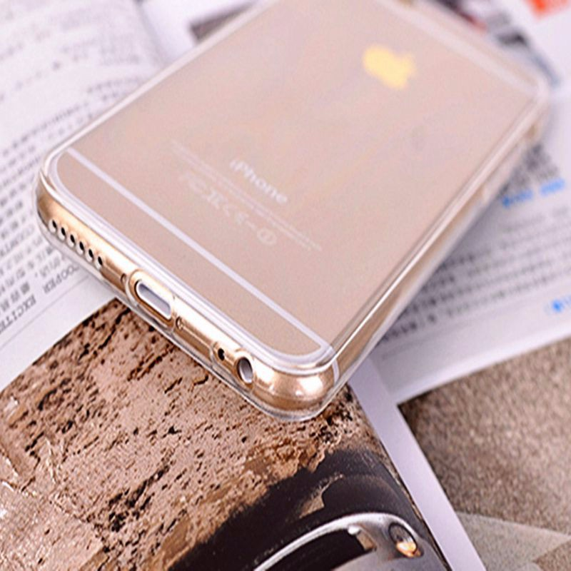 Case For iphone 6 4.7 inch / 5.5 inch Case For iphone 6 4.7inch / 5.5inch Luxury 0.3 mm Ultra thin Soft TPU Clear Cover 6 PLUS