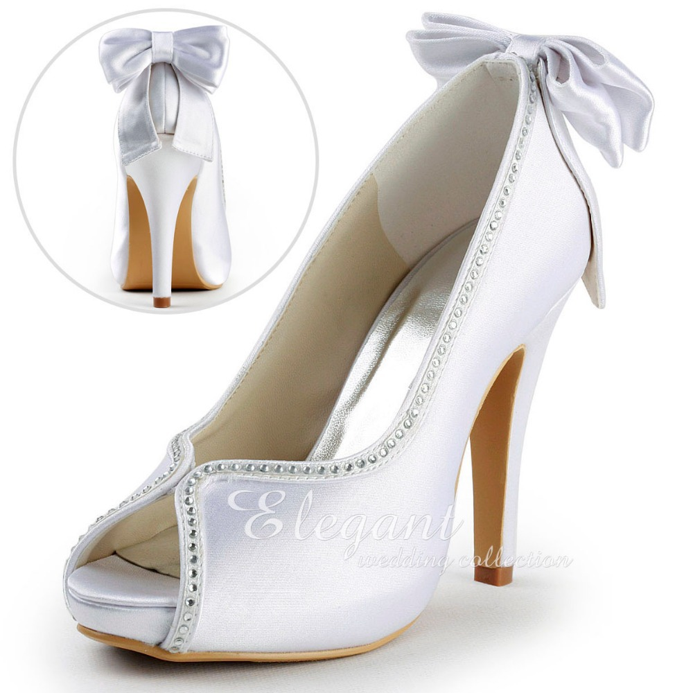 Wedding Shoes Platform Heels
