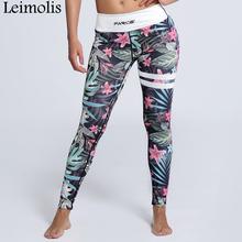 Buy Leimolis 3D print Jungle weed flower winter warm Harajuku adventure time workout push plus size fitness leggings women pants for $11.90 in AliExpress store