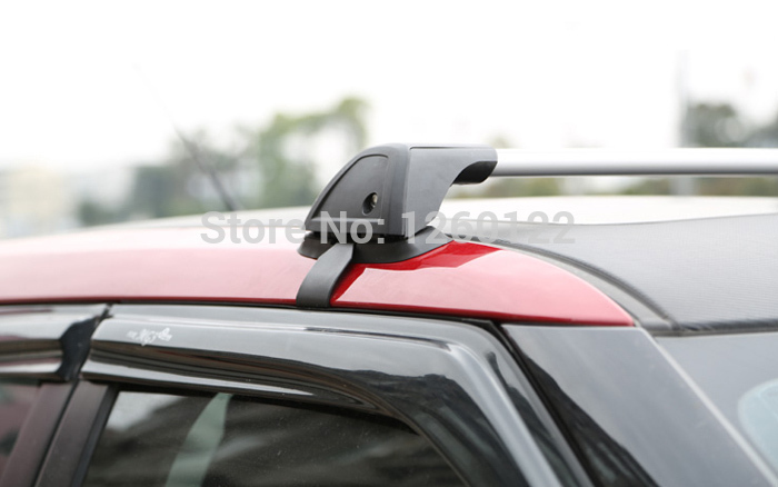 New Car Roof Rack Car Top Racks Cross Bar No Drilling Required Universal Aluminium-Alloy With Lock Size A(China (Mainland))