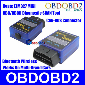 Works on Andrion Torque V1.5 Supported All OBD/OBD2 Protocols Can Bus mini elm 327 Bluetooth Diagnostic Interface Elm327 Scanner