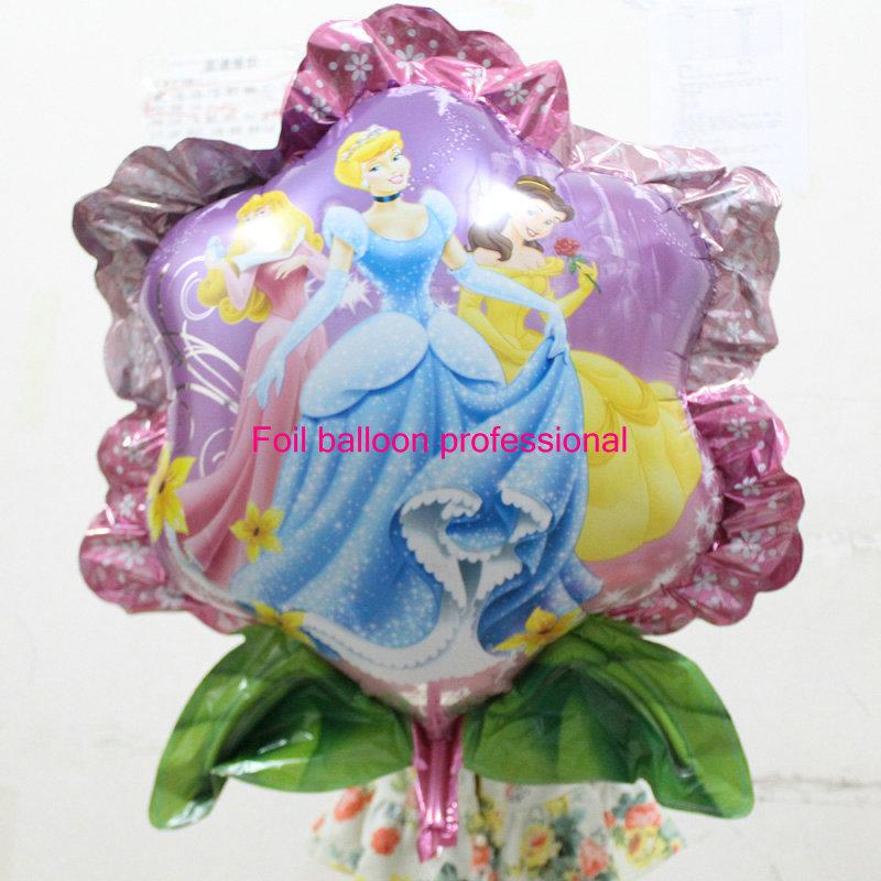 New 50pcs/lot 65*7cm shaped cinderella helium foil balloons birthday party suppliesprincess ballons<br><br>Aliexpress