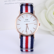 Daniel Wellington fashion dw Watch women High good quality quartz watch men nylon sports wristwatches Relogio Feminino