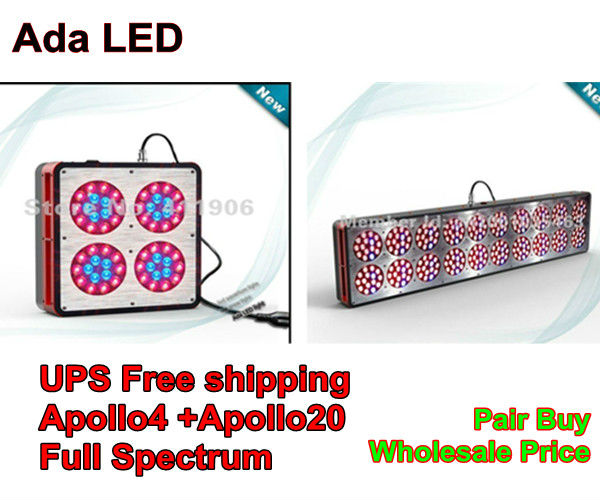 Buy 630W Apollo20 Full Spectrum Led Grow Light, and get a Full Spectrum 130W Apollo4 Led Grow Light at $90(China (Mainland))
