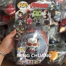 Infinito guerra Super-heróis vingadores Homem De Ferro Hulk Capitão América Homem-Aranha Batman Superman Pantera Negra Figura de Ação Brinquedo Q227(China)