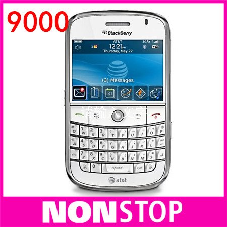 Unlocked Original Blackberry Bold 9000 Mobile Phone GPS WIFI 3G Cell Phone Refurbished(China (Mainland))