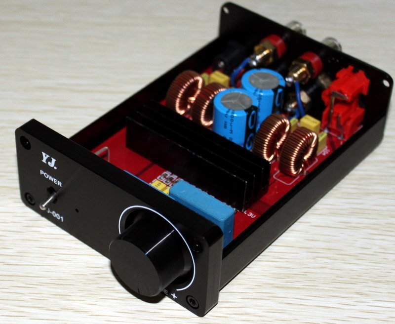 YJ-Finished TDA7492 Power amplifier 50W+50W AMP (not include power supply)(China (Mainland))