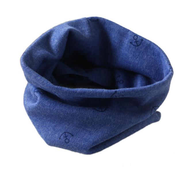 Новый бренд 2015 классический детский хлопок шарфы мальчики и девочки кольцо шарф ...