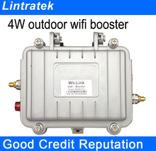 2.4G 802.11b/g/n Wireless 4Watt Wifi Access Point high quality outdoor waterproof booster 4W