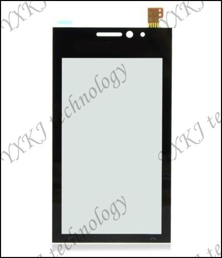 Top quality for Sony Ericsson Satio U1 U1i B0209 P touch screen digitizer glass with lens free shipping 20/lots+tracking NO.(China (Mainland))