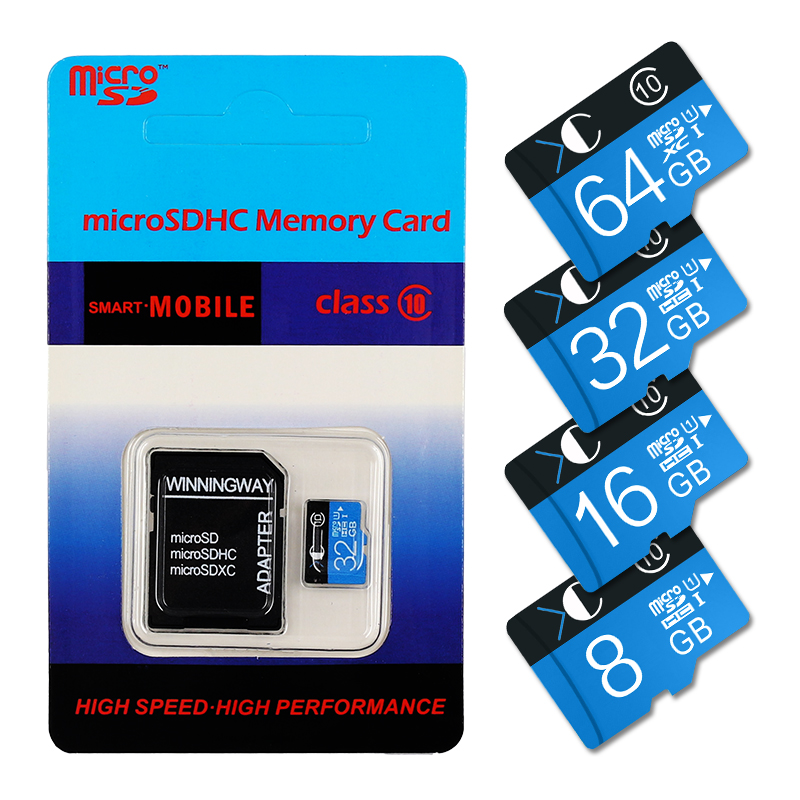 New micro sd 8GB 16GB class 6 microsd card memory card 32GB 64GB class 10 flash card TF card pen drive for phone real capacity(China (Mainland))