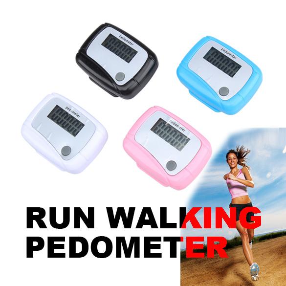 Digital LCD Step Counter Run Walk Walking Pedometer Distance Calorie Monitor High Quality(China (Mainland))